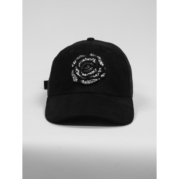 DOLLARS AND DREAMS CAP BLACK STRASSE ARGENT