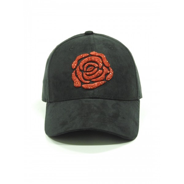 DOLLARS AND DREAMS CAP BLACK STRASSE RED
