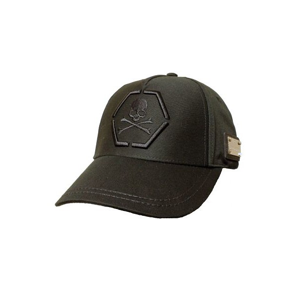 "PHILIPP PLEIN CASQUETTE ""3D ONE"" BLACK"