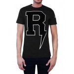 RICHARD VALENTINE T-SHIRT THUNDER BLACK
